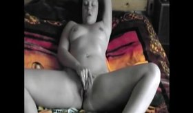 Curvy creamy girlfriend gets naughty for her man